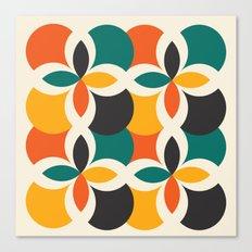 Midcentury Pattern 09 Canvas Print