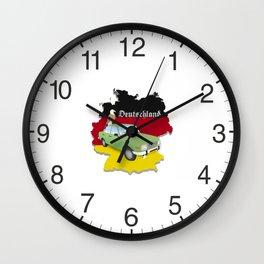 Germany Emblem Wall Clock