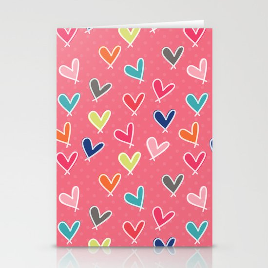 Blow Me One Last Kiss - Pink Stationery Cards