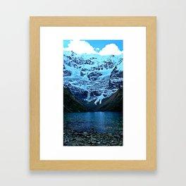 Humantay Lake Framed Art Print