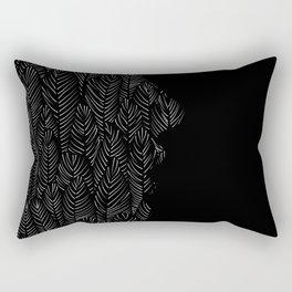 My head is a jungle Rectangular Pillow