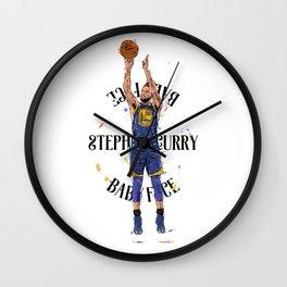 Stephen «Babyface» Curry Wall Clock