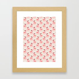 Betta splendens pattern Framed Art Print