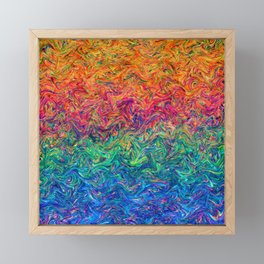 Fluid Colors G249 Framed Mini Art Print