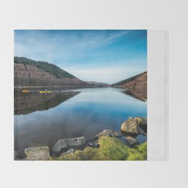 Geirionydd Lake Throw Blanket