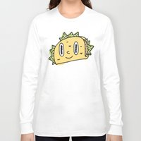 taco Long Sleeve T-shirts featuring Taco Buddy by Frenemy