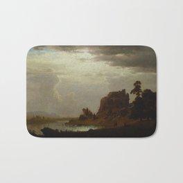 Albert Bierstadt - On the Sweetwater near the Devil's Gate (1860) Bath Mat