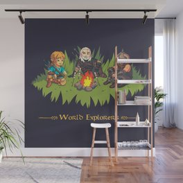 World Explorers Wall Mural