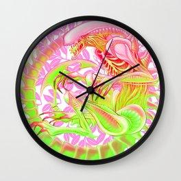 Xenomorph - Alt Color Wall Clock