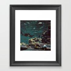Meriggio a Gorgonia Framed Art Print