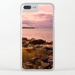 Just a Little While Clear iPhone Case