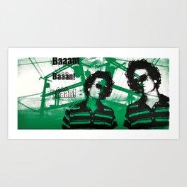 Benny BAAN! Art Print