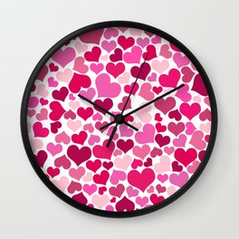 Heart 2014-0933 Wall Clock