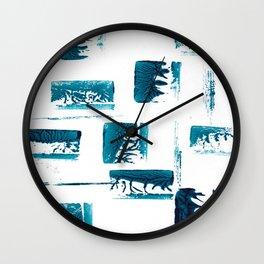 ROADBLOCKS Wall Clock