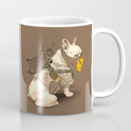 Doggy Vigilante // Django the French Bulldog Coffee Mug