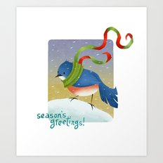 Season's Greetings 2012 Art Print