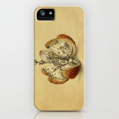 Steampunk Orange (sepia) Slim Case iPhone (5, 5s)
