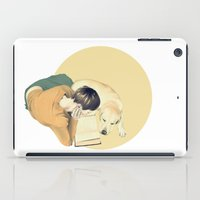 reading iPad Cases featuring Reading by Anna Araslanova