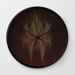 play with the fire Wall Clock