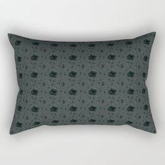 Gloomy Garden Rectangular Pillow