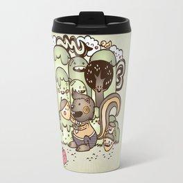 Happy Squirrel Travel Mug