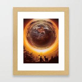 A WORLD OF PEACE Framed Art Print