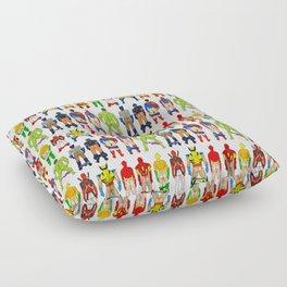 Superhero Butts Floor Pillow