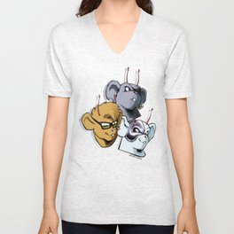 Biker Mice from Mars Unisex V-Neck