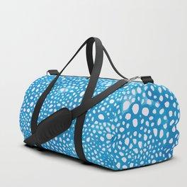 Blue Bubbles II Duffle Bag