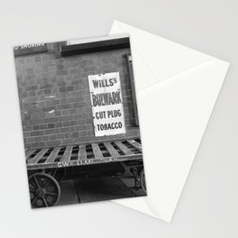 Vintage Railway Signs Black & White Stationery Cards