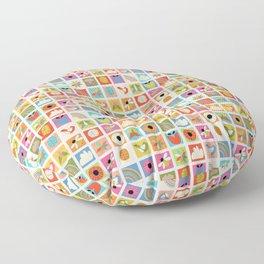 Nature Quilt Floor Pillow