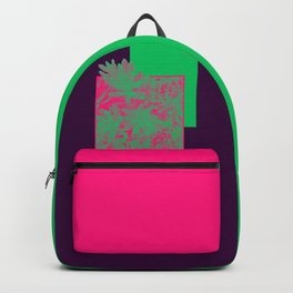 Neon Greenery #society6 #succulent Backpack