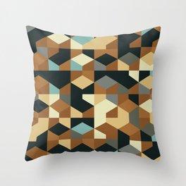 Abstract Geometric Artwork 54 Throw Pillow