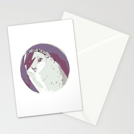 Labyrinth movie jareth quotes owl Stationery Cards