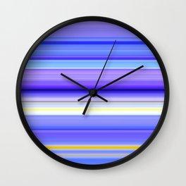 Iris sibirica Wall Clock