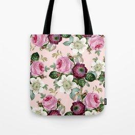 Floral enchant - blush Tote Bag