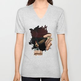 Relaxing Moment Unisex V-Neck