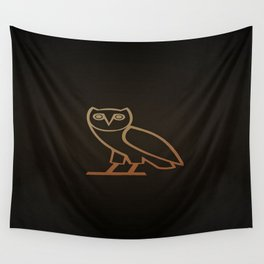 DRAKE Owl logo Wall Tapestry