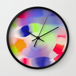 tubular blobs Wall Clock