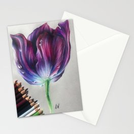 """""""Tulip"""" Drawing Stationery Cards"""