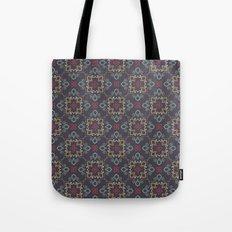 Doodle damask composition Tote Bag