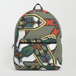 Revive the Gothic Revival in Sage Backpack