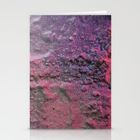 rave Stationery Cards featuring Rave by Calle de Rosa
