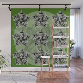 Kaleidescope Witch Wall Mural