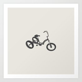 tricycle 02 Art Print