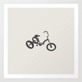 tricycle 02 Art Print