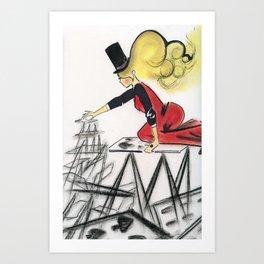 Abracadabra Art Print