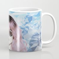 paradise Mugs featuring Paradise by BTP Designs