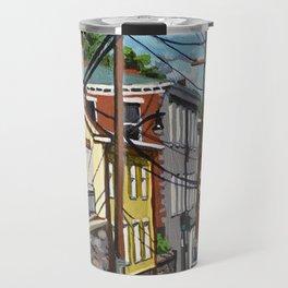 Ellicott City Flood Relief- Firehouse Museum Travel Mug