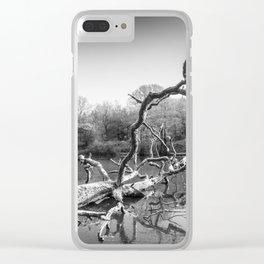 Fallen Clear iPhone Case